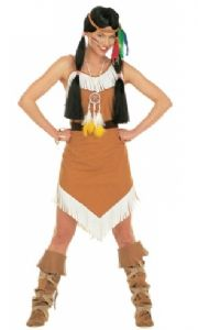 Comanche Indian Woman Costume (4338)